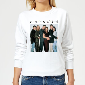 Friends Group Shot Women's Sweatshirt - White