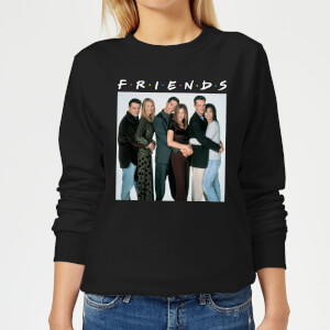 Sweat Femme Le Groupe - Friends - Noir