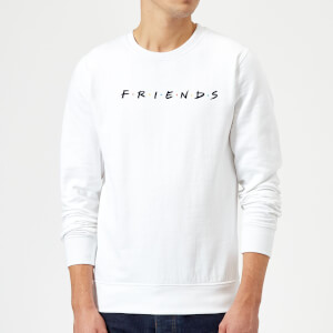 Sweat Homme Logo - Friends - Blanc