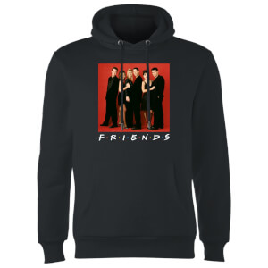 Friends Character Pose Hoodie - Black