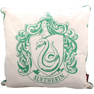 Harry Potter Slytherin Crest Fiilled Cushion