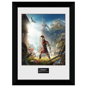Assassin's Creed: Odyssey Key Art Framed 16 x 12 Inches Print
