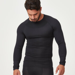 Myprotein Compression Long Sleeve Top - Black