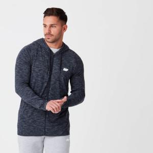 Myprotein Performance Zip Top - Navy Marl