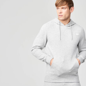 Tru-Fit Zip Pullover Hoodie - Grey