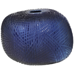 Broste Copenhagen Cut Mouthblown Glass Vase - Small - Astral Aura