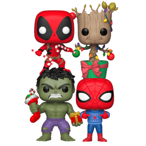 Collection Funko Pop! Marvel Festif