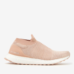 adidas Women's Ultra Boost Laceless Trainers - Ash Pearl