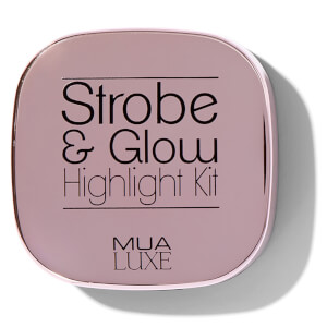MUA Luxe Strobe & Glow Highlight Kit - Pink Lustre