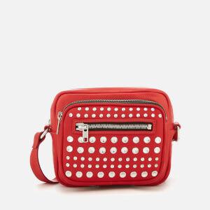McQ Alexander McQueen Women s Cross Body Bag - Riot Red def3e3a89aaa3