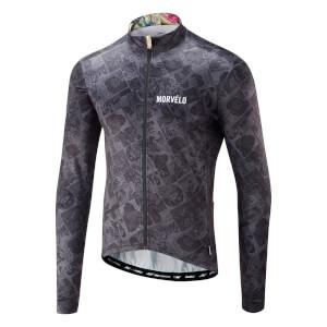Morvelo Co-Mix Thermoactive Long Sleeve Jersey - Black