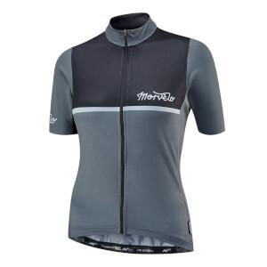 Morvelo Women's Kuler Black Short Sleeve Jersey - Black