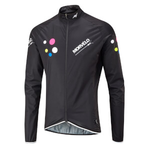 Morvelo Dee Dee Aegis Packable Windproof Jacket - Black