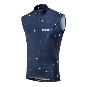 Morvelo Suits Hemisphere Gilet - Blue