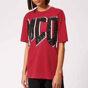 McQ Alexander McQueen Women's Boyfriend T-Shirt - Cadillac Red