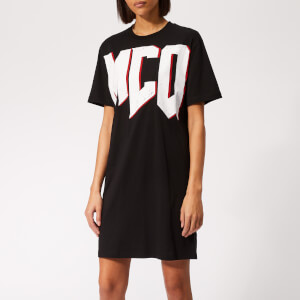 McQ Alexander McQueen Women's Slouchy T-Shirt Dress - Darkest Black