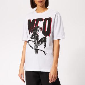 McQ Alexander McQueen Women's Boyfriend T-Shirt - Optic White