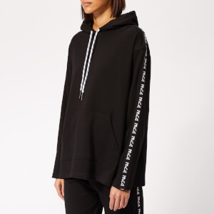 McQ Alexander McQueen Women's Ribless Hoody - Darkest Black