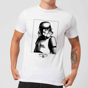 Star Wars Imperial Troops Men's T-Shirt - White