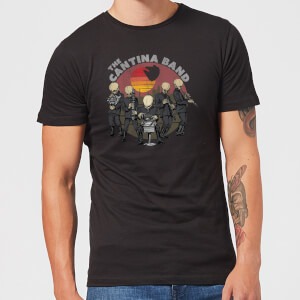 T-Shirt Homme Cantina Band Star Wars Classic - Noir