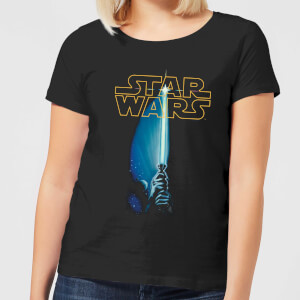Star Wars Lightsaber Women's T-Shirt - Black