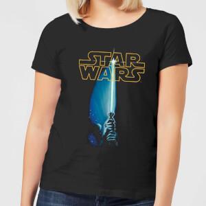 Camiseta Star Wars Sable de Luz - Mujer - Negro