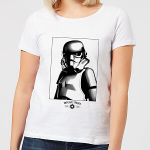 Star Wars Imperial Troops Women's T-Shirt - White