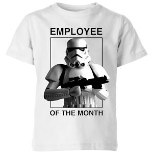 Star Wars Employee Of The Month Kids' T-Shirt - White