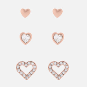 Ted Baker Women's Laaria Heart Trio Gift Set - Rose Gold/Crystal