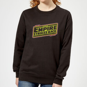 Sudadera Star Wars The Empire Strikes Back - Mujer - Negro