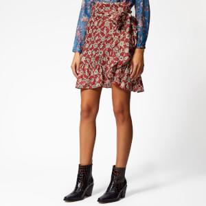 Isabel Marant Étoile Women's Tempster Skirt - Rust