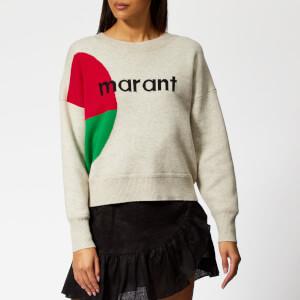 Isabel Marant Étoile Women's Korbin Sweatshirt - Light Grey