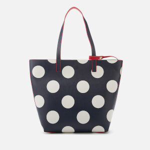 Joules Women's Revery Print Reversible Tote Bag - Navy Spot
