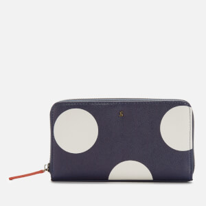 Joules Women's Fairfold Print Purse - Navy Spot