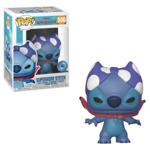 PIAB EXC Superhero Stitch Disney Funko Pop! Vinyl