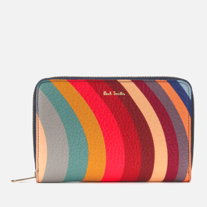 0e673501aaa2 Paul Smith Women's Swirl Medium Zip Round Purse - Multi