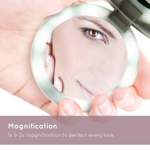 HoMedics Pretty and Powerful Compact Mirror Power Bank: Image 5