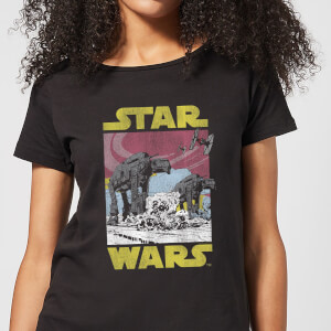 Camiseta Star Wars AT-AT - Mujer - Negro