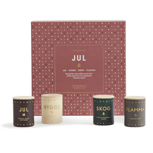 SKANDINAVISK Christmas Collection Scented Mini Candle Gift Set - Jul