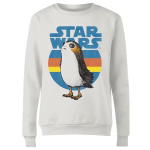 Star Wars Porg Women's Sweatshirt - White