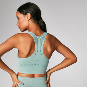 Myprotein Acid Wash Sports Bra - Seafoam
