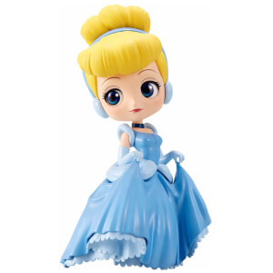 Banpresto Q Posket Disney Cinderella Figure 14cm (Normal Colour Version)