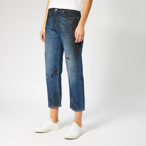 Vivienne Westwood Anglomania Women's New BF Jeans - Blue