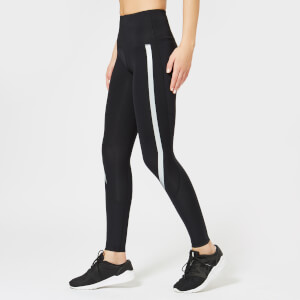 2XU Women's High Rise Compression Tights - Black/Silver