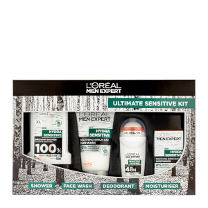 L'Oréal Paris Men Expert Ultimate Sensitive Kit Christmas Gift (Worth £19.51)