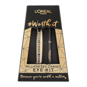L'Oréal Paris Worth It Mascara and Eyeliner Eye Kit Duo