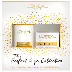 L'Oréal Paris Skin Expert Age Perfect Cleanse and Moisturise Gift (Worth £19.98)