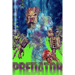 "Predator 16""x 24"" Fine Art Giclee Print by Chris Christodoulou - Zavvi Exclusive Timed Edition"