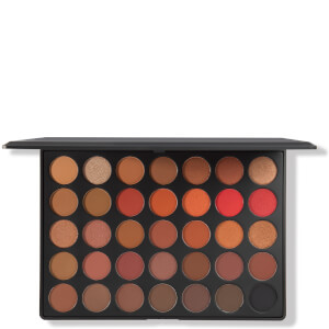 Morphe 35O2 Second Nature Eyeshadow Palette paleta cieni do powiek