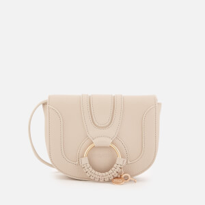 See By Chloé Women's Hana Leather Small Cross Body Bag - Cement Beige